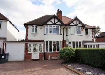 3 bed semi-detached house for sale in Clarendon Road, Sutton Coldfield B75