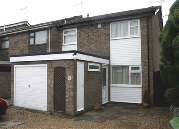 Thumbnail 3 bed town house for sale in The Meads, Western Park, Leicester