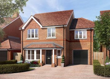 Wrecclesham, Farnham, Baker Oats Drive GU10. 4 bed detached house for sale