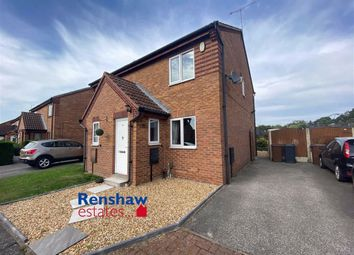 Thumbnail 2 bed semi-detached house for sale in Thistle Road, Ilkeston, Derbyshire