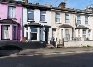 Thumbnail 3 bed terraced house to rent in Rochester Avenue, Rochester, Kent