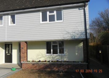Thumbnail 3 bed semi-detached house to rent in Dorset Avenue, Great Baddow, Chelmsford
