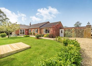 Thumbnail 4 bed detached bungalow for sale in Tuppeny Grove, Baconsthorpe, Holt