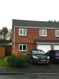 Thumbnail 3 bed semi-detached house to rent in Wroxeter Way, Stirchley, Telford