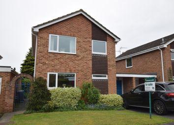 3 bed link-detached house for sale in Durnsford Avenue, Fleet GU52