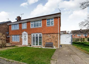Thumbnail 3 bed semi-detached house for sale in Juniper Close, Walderslade, Chatham
