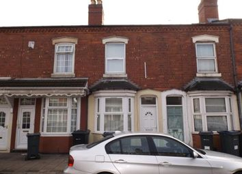 Thumbnail 3 bed terraced house for sale in Reginald Road, Alum Rock, Birmingham, West Midlands