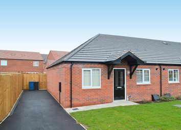 Thumbnail 2 bed semi-detached bungalow for sale in Muir Row, Fradley, Lichfield
