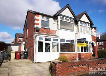 Thumbnail 3 bedroom semi-detached house for sale in Welbeck Road, Heaton, Bolton, Lancashire.