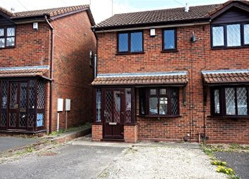 Thumbnail 2 bedroom semi-detached house for sale in Round Street, Dudley