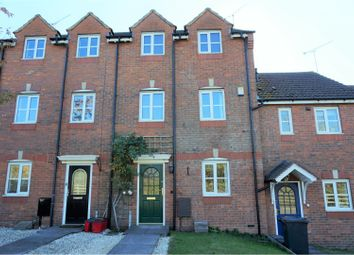 Thumbnail 3 bed town house for sale in Plantagenet Park, Warwick