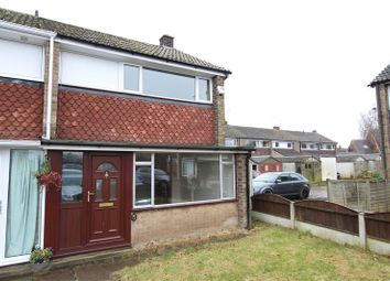 Thumbnail 3 bed town house to rent in Twyford Close, Willington, Derby