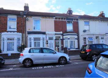 Thumbnail 3 bed terraced house for sale in Vernon Road, Portsmouth