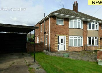 Thumbnail 3 bed semi-detached house for sale in Whitney Close, Balby, Doncaster.