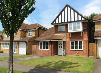 Thumbnail 3 bed detached house for sale in Kristiansand Way, Letchworth Garden City