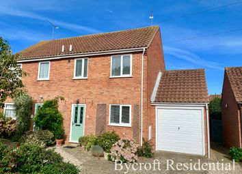 Thumbnail 3 bed semi-detached house for sale in The Lane, Winterton-On-Sea, Great Yarmouth