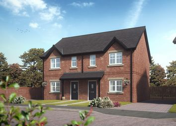"Thumbnail 3 bedroom semi-detached house for sale in ""Rowan"" at Stoney Lane, Galgate, Lancaster"