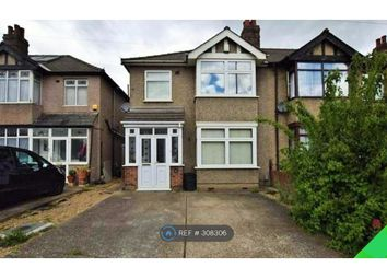 Thumbnail 3 bed semi-detached house to rent in Brentwood Road, Gidea Park