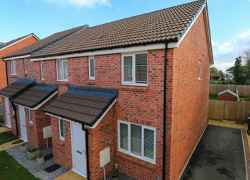 3 bed end terrace house for sale in Beech Road, Cranbrook, Exeter EX5