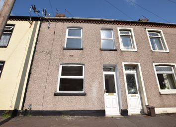 Thumbnail 2 bedroom terraced house for sale in North Clive Street, Cardiff