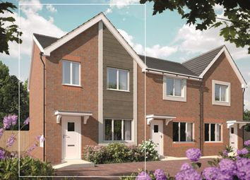 Thumbnail 3 bed end terrace house for sale in Bramshall Green, Uttoxeter