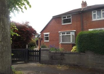 Thumbnail 2 bed semi-detached house for sale in Cambridge Road, Urmston, Manchester, Greater Manchester