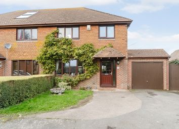 Thumbnail 3 bed semi-detached house for sale in 3 The Street, Dover, Kent