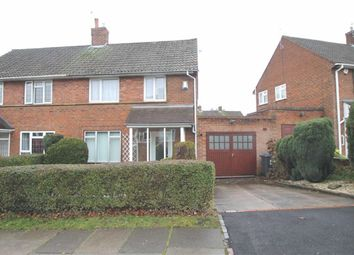 Thumbnail 3 bed semi-detached house for sale in Wistaria Close, Birmingham