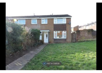 Thumbnail 3 bed end terrace house to rent in Pauls Walk, Lichfield