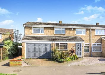 Thumbnail 5 bedroom semi-detached house for sale in Newis Crescent, Clifton, Shefford