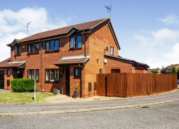 Thumbnail 3 bed semi-detached house for sale in Kendal Close, Peterborough