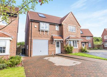 Thumbnail 4 bed detached house for sale in Foundry Close, Coxhoe, Durham