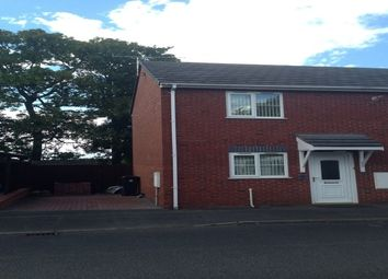 Thumbnail 2 bed semi-detached house to rent in Station Road, Greenfield, Holywell