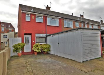 Thumbnail 3 bedroom end terrace house for sale in Powerscourt Road, Portsmouth