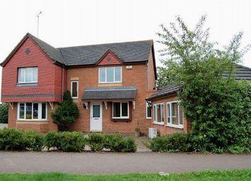 Thumbnail 6 bed detached house for sale in Battalion Drive, Simpson Manor, Northampton