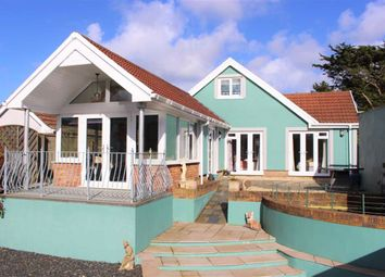 Thumbnail 3 bed detached bungalow for sale in Merlins Cross, Lower Lamphey Road, Pembroke