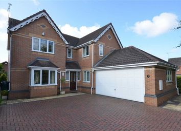 Thumbnail 4 bed detached house for sale in Chapel Court, Barlaston, Stoke-On-Trent