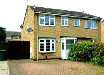 Thumbnail 3 bedroom semi-detached house for sale in Tickham Avenue, Stenson Fields, Derby