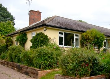 Thumbnail 3 bed semi-detached bungalow to rent in Shelsley Beauchamp, Worcester