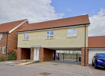 Thumbnail 2 bed flat to rent in Crocus Close, Eynesbury, St. Neots