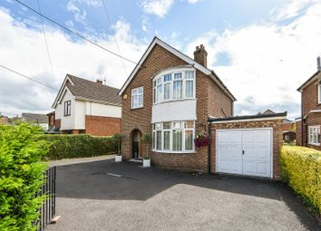 Thumbnail 4 bed detached house for sale in Leigh Road, Andover