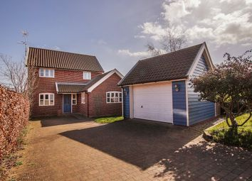 Thumbnail 4 bed detached house for sale in Mill Hill, Aldringham, Leiston