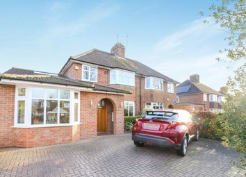 Thumbnail 4 bed semi-detached house for sale in Willian Road, Hitchin, Hertfordshire, England