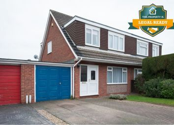 Thumbnail 3 bed semi-detached house for sale in Tysoe Drive, Walmley, Sutton Coldfield