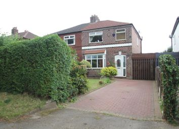 Thumbnail 3 bed semi-detached house for sale in Manor Avenue, Sale