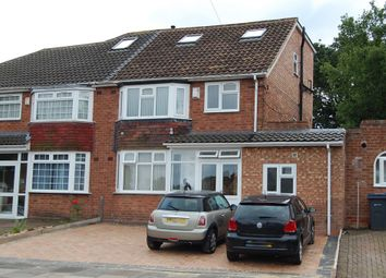 Thumbnail 4 bedroom semi-detached house for sale in Worlds End Road, Handsworth Wood, Birmingham