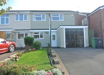 Thumbnail 3 bed semi-detached house for sale in Hundred Acre Road, Streetly, West Midlands