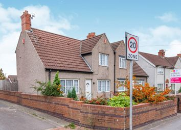 Thumbnail 3 bed semi-detached house for sale in Church Road, Stainforth, Doncaster
