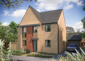 Thumbnail 4 bed detached house for sale in Station Road, Longstanton, Cambridge