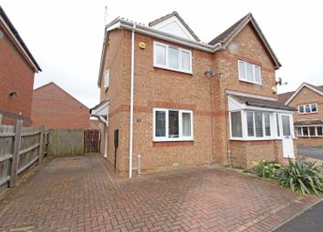 Thumbnail 2 bed semi-detached house for sale in Aveland Close, Bourne